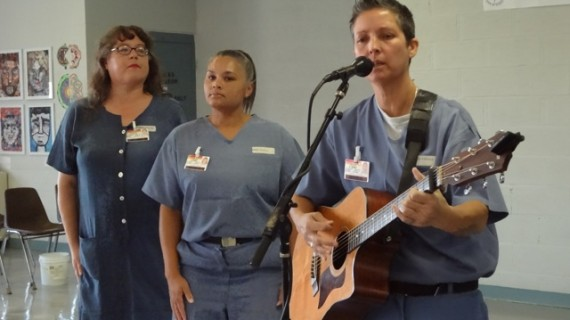 Voices From Within - Songbird.  Florida Department of Corrections Program Features Interactive Singing and Songwriting Workshops