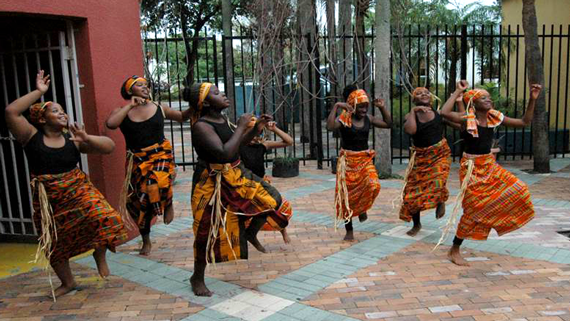Rhythms of Life - Music program designed for youth to better understand the African heritage spectrum of the Americas. Tacolcy Dancers